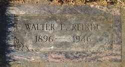 Walter Earl Walt Reindl