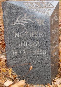 Julia <i>Ritter</i> Haas