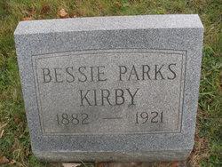 Bessie <i>Parks</i> Kirby