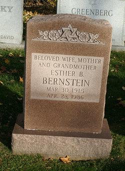 Esther B. Bernstein