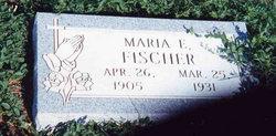 Maria Elizabeth <i>Schmidt</i> Fischer