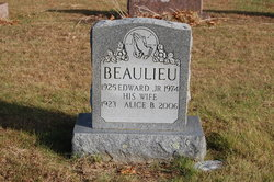 Alice B. <i>Hebert</i> Beaulieu