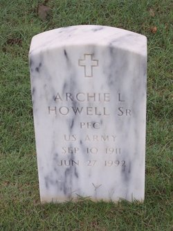 Archie L Howell, Sr