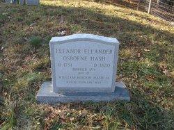 Eleanor Ellander <i>Osborne</i> Hash