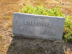 Ollie C Alexander