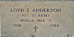 Loyd Z Anderson