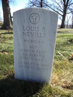 Sgt Louis Ray Nevills