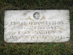 Edgar Maurice Halyburton