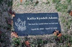 Kailia Kyndell Adams
