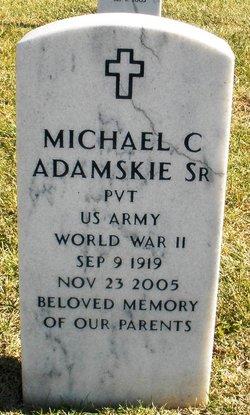 Pvt Michael C Adamskie, Sr