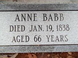 Anne <i>Kellett</i> Babb