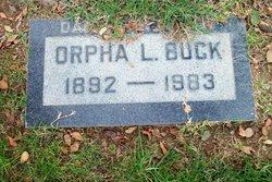 Orpha Lean <i>Pierce</i> Buck