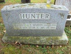 Susan Virginia Susie <i>Sparks Harrington</i> Hunter