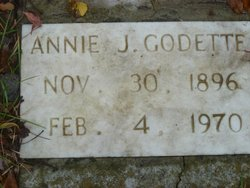 Annie J <i>Priestly</i> Godette