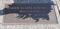 Karen Elaine <i>Hammonds</i> Barnhill