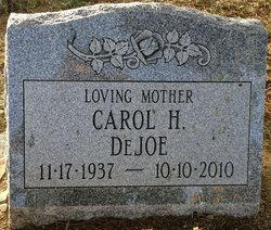 Carol H <i>Springer</i> DeJoe