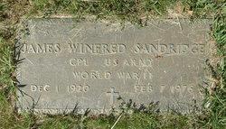 James Winfred Sandridge