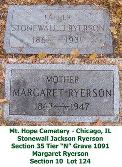 Margaret <i>Chesnut</i> Ryerson