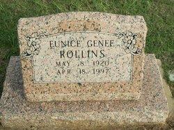 Eunice Genee Rollins