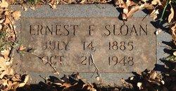 Ernest F Sloan
