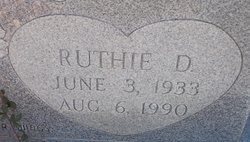 Ruth Dean Ruthie West