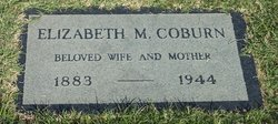 Elizabeth Matilda <i>Wagner</i> Coburn