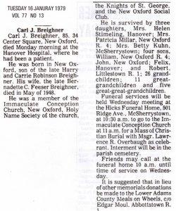 Carl Joseph Breighner