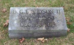 Benjamin Gideon Davidson, II