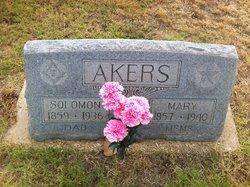 Mary Ann <i>Johnson</i> Akers