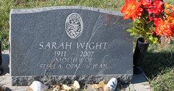 Sarah <i>Colbert</i> Wight