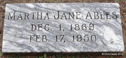 Martha Jane <i>Sebring</i> Ables