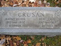 Naomi <i>Meade</i> Crusan