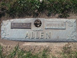 Betty M Allen