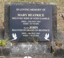 Mary Beatrice Gamble