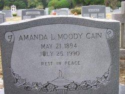 Amanda Laura <i>Moody</i> Cain