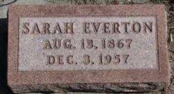 Sarah <i>Leader</i> Everton