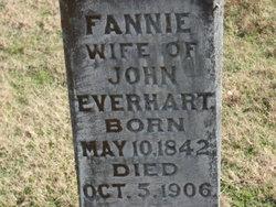 Fannie <i>Grogan</i> Everhart