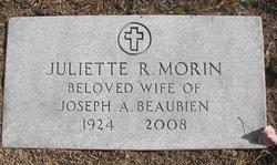 Juliette R <i>Morin</i> Beaubien