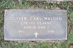 Oliver Carl Walden