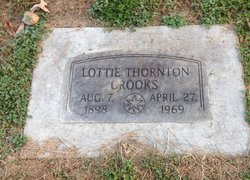 Lottie <i>Thornton</i> Crooks
