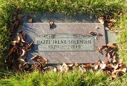 Hazel Solemslie