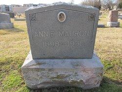 Anna H. Annie <i>Paver</i> Mauroni