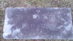 William Andrew Klein III