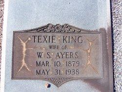 Texie <i>King</i> Ayers