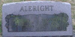 Susan <i>Bell</i> Albright