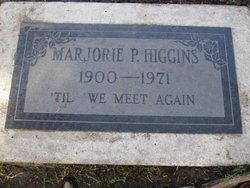 Marjorie P. Higgins