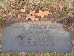 Ada Virginia <i>Stephens</i> McCook