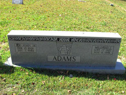 Mrs Mildred Louise <i>Jenkins</i> Adams