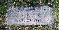 Elba Ann <i>White</i> Bishop
