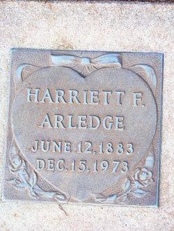 Hariett <i>French</i> Arledge